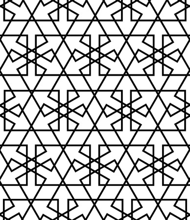 reticular: persian islamic pattern or arabesque