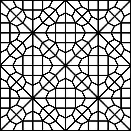 islamic arabic pattern or arabesque Vector