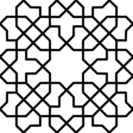 oriental islamic persian pattern or window Vector