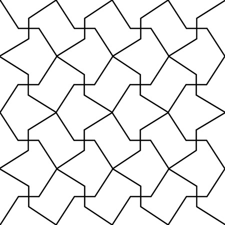 trapezoid: simple islamic arrow pattern
