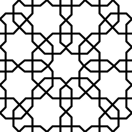 reticular: seamless geometrical traditional design for decoration
