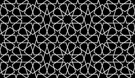 reticular: traditional islamic black HD wallpaer