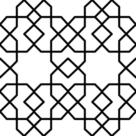 reticular: seamless persian geometrical arabesque