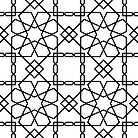 geometrical: seamless geometrical oriental pattern