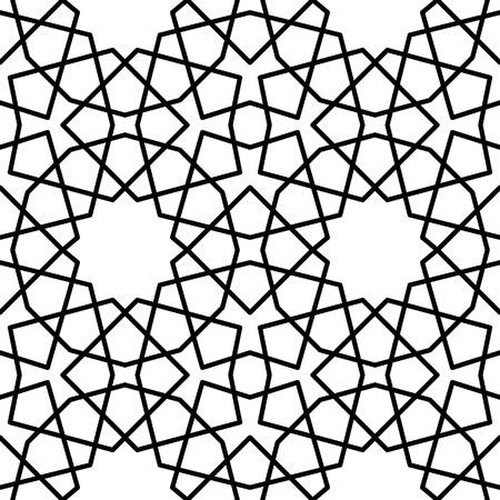 reticular: persian circle pattern