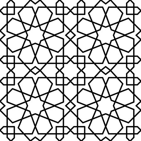 seamless islamic persian traditional pattern