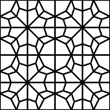 tile pattern: seamless islamic geometrical texture