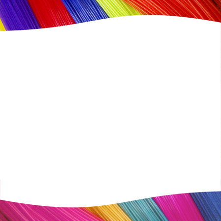 colourful catalog header and footer