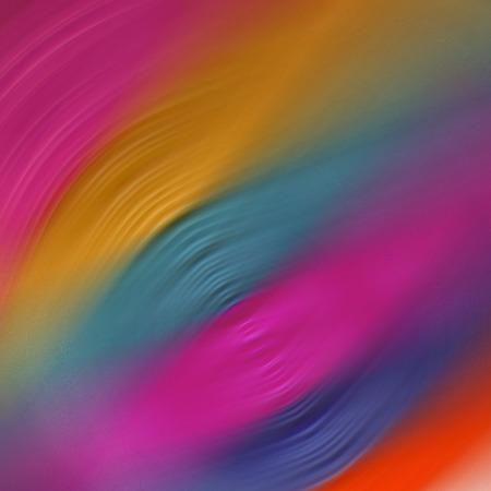 shrinkage: colourful radial shrinked curves background Stock Photo