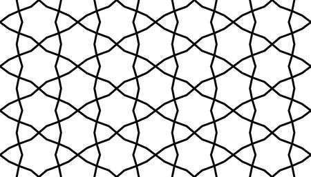reticular: geometrical persian islamic pattern