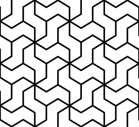 reticular: seamless geometric pattern Illustration