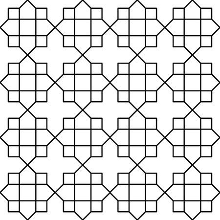 islamic pattern: islamic pattern Illustration