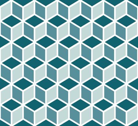 sin costura patrones geométricos 3d de cubos