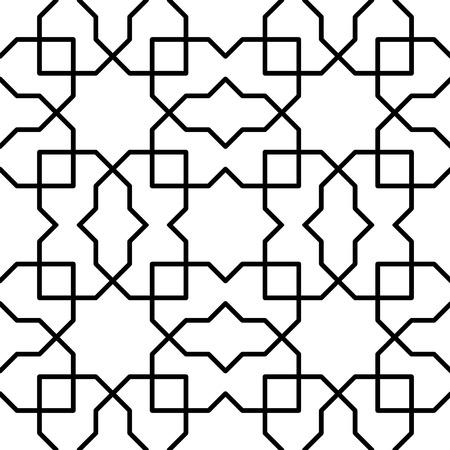 reticular: simple persian geometric pattern