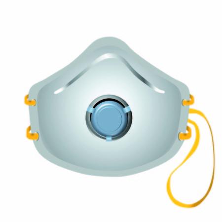 respiratory mask vector