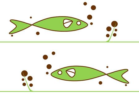pez abstracto: