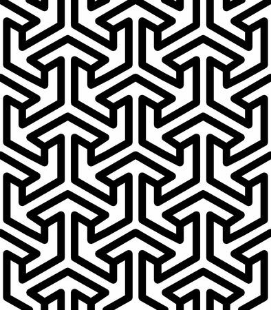 islamic pattern: seamless islamic geometric pattern Illustration