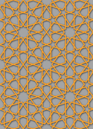 islamic pattern: common islamic star pattern