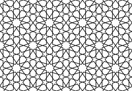 traditional islamic lattice