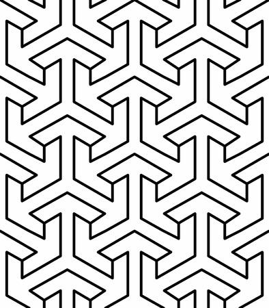 seamless geometric arabic pattern