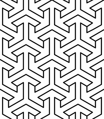 seamless geometric arabic pattern