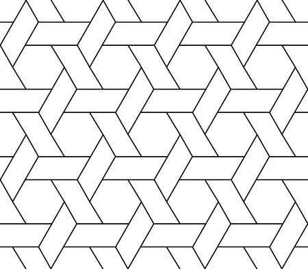 reticular: seamless geometric pattern Illustration