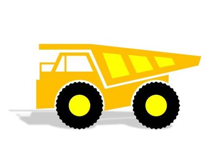 camion minero: minería camión