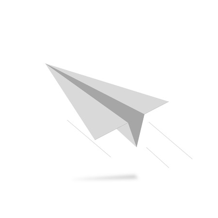 air liner: paper airplane take off and fast progress