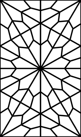 geometric persian pattern Illustration