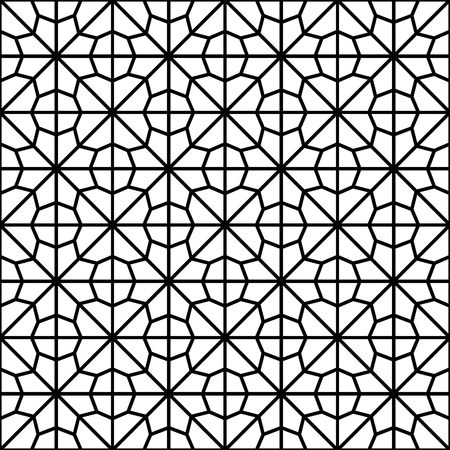 traditional pattern: traditional geometric pattern Illustration