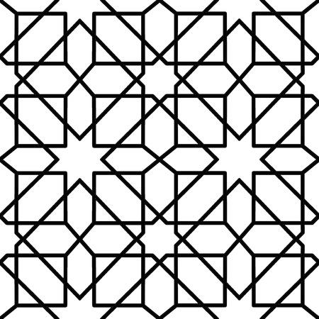 nahtlose geometrische Muster für die Dekoration Design