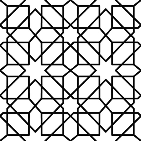 reticular: seamless geometric pattern for decoration design