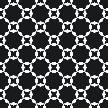 reticular: seamless black and white geometric texture background