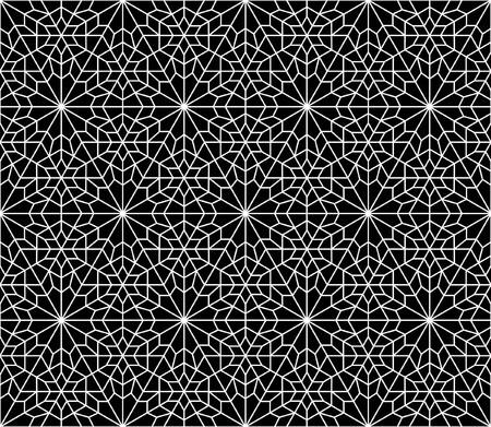 nahtlose orientalischen geometrischen persisch Design