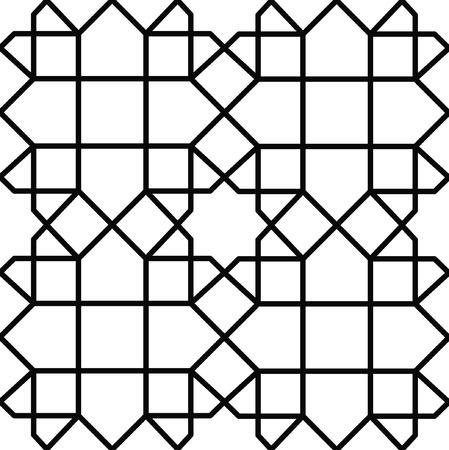 nahtlose geometrische Textur
