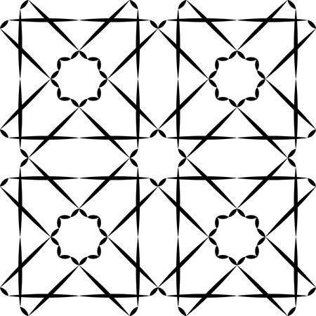 nahtlose geometrische Design für Textilien Illustration