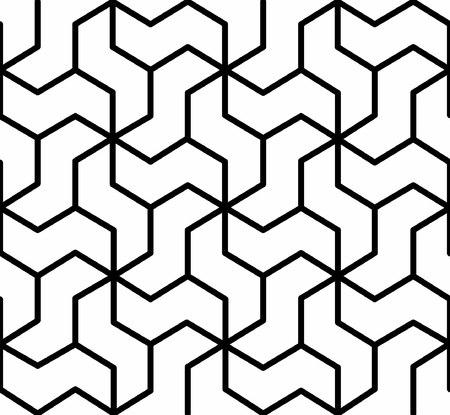nahtlose geometrische Muster