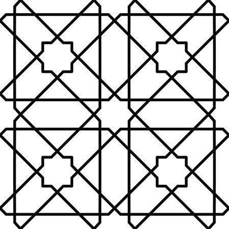 nahtlose geometrische traditionellen Design
