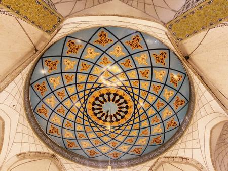 Islamischen Design von ceil Bogen als Hintergrund Landschaft