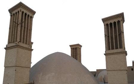 Windwards und Kuppel eine alte persische Architektur