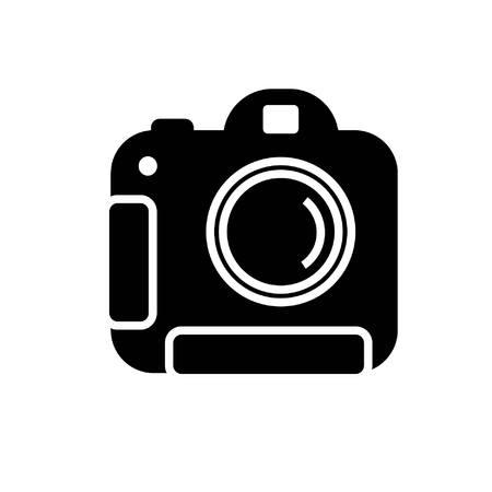 advanced digital camera in black and white
