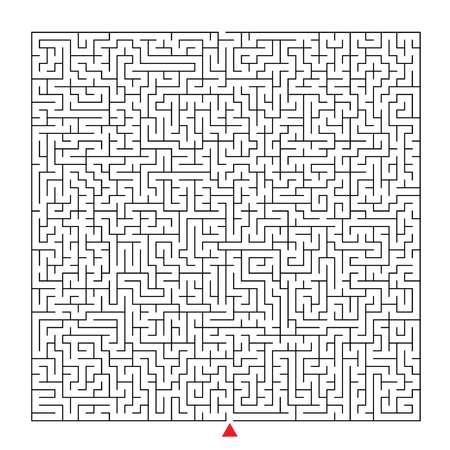 complex orthogonal maze Иллюстрация