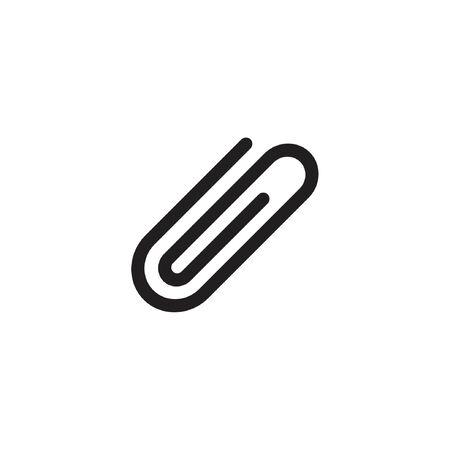 simple clip attachment Icon