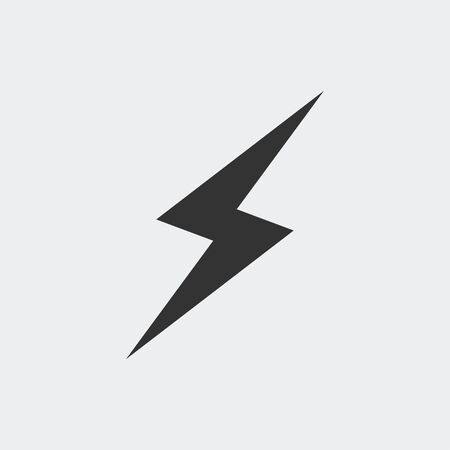 Lightning icon for web and mobile