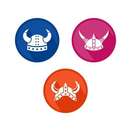 vikingo: Plantilla del logotipo de Viking Vectores