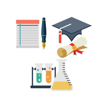 study icon: Estudio Plantilla Icono