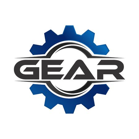 Gear Logo Template