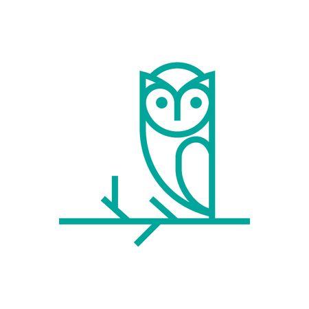 Owl   Template 写真素材