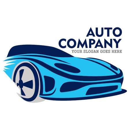 Auto Logo Template Stockfoto - 43587297