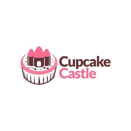 royal house: Castle Template Stock Photo